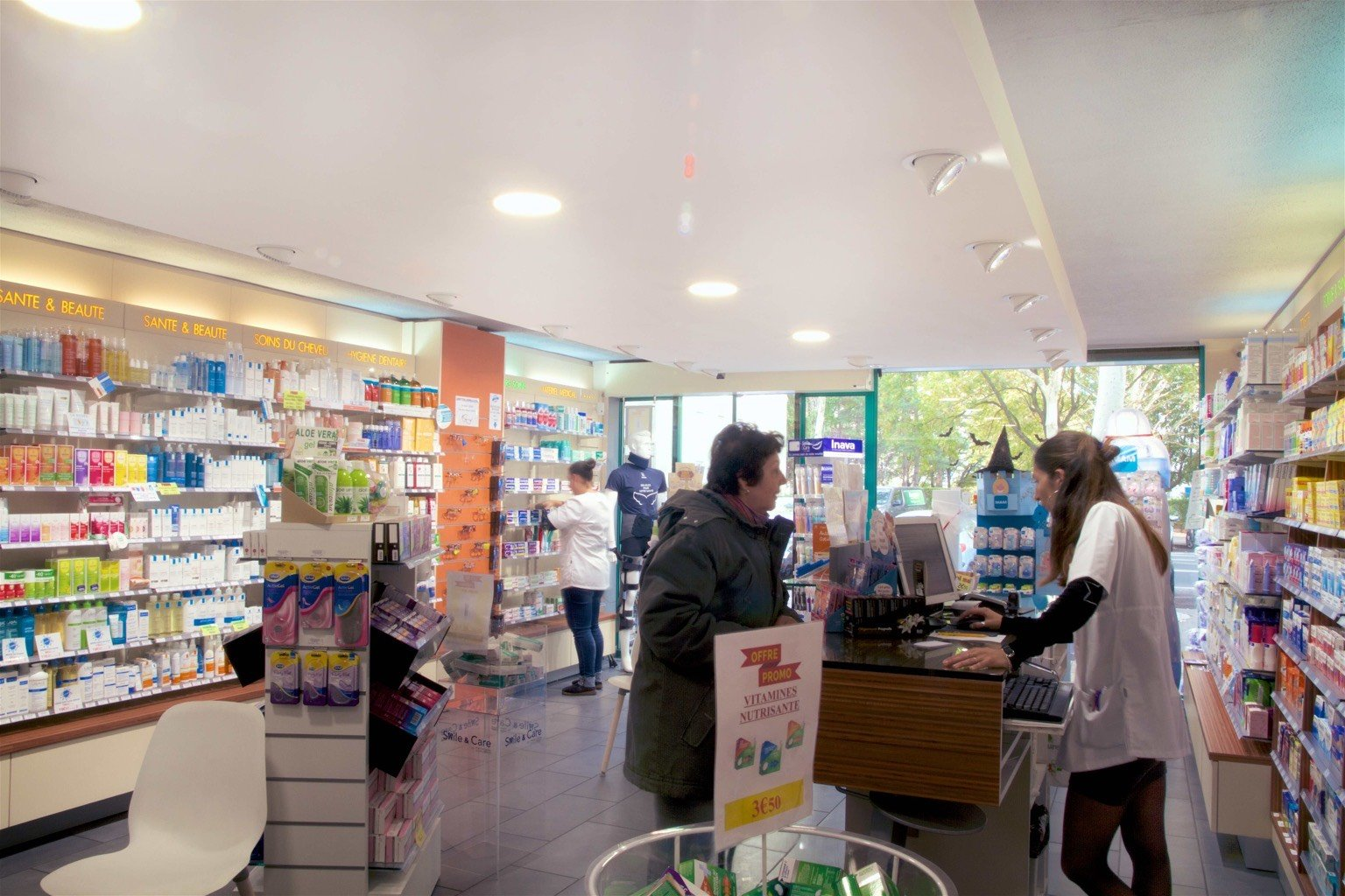 All-night drugstore and emergencies